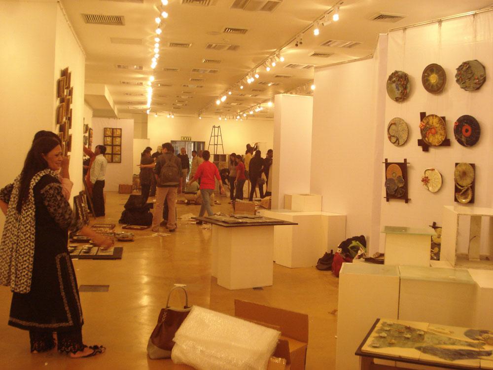 Ceramic Art Show Tiles Forever New Delhi Rekha Goyal