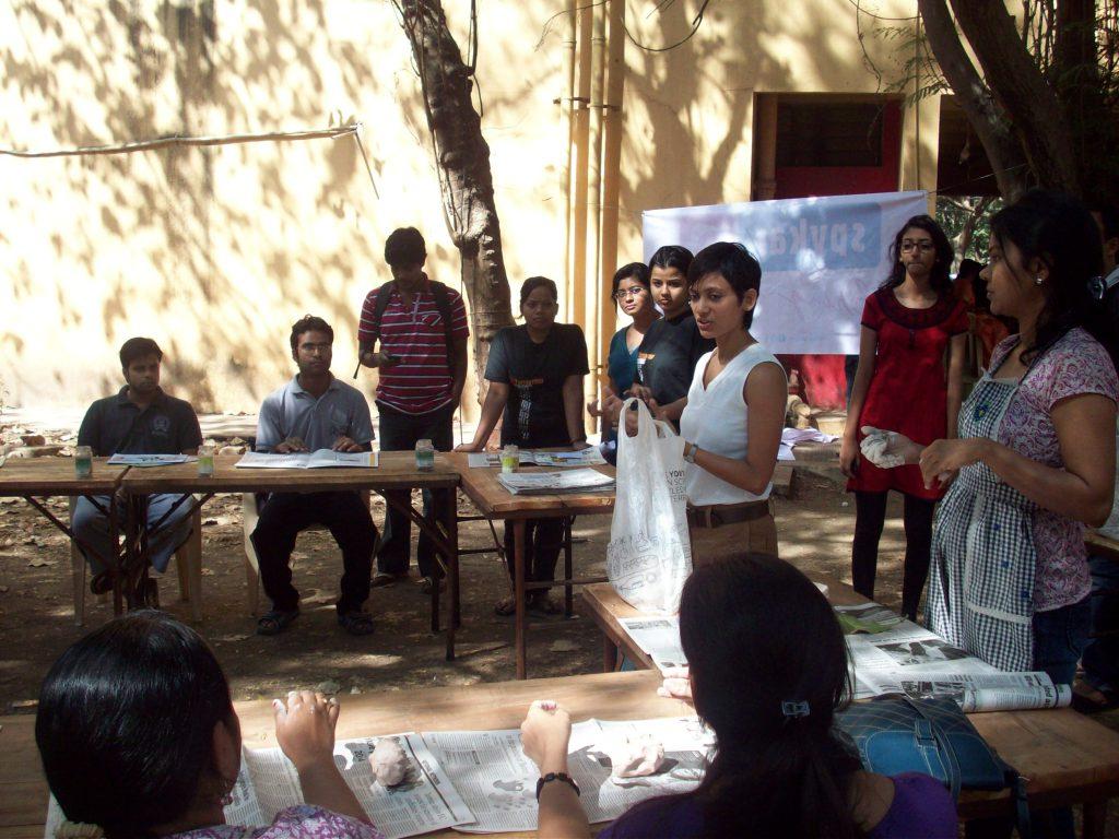 clay modelling workshop iit mumbai 1