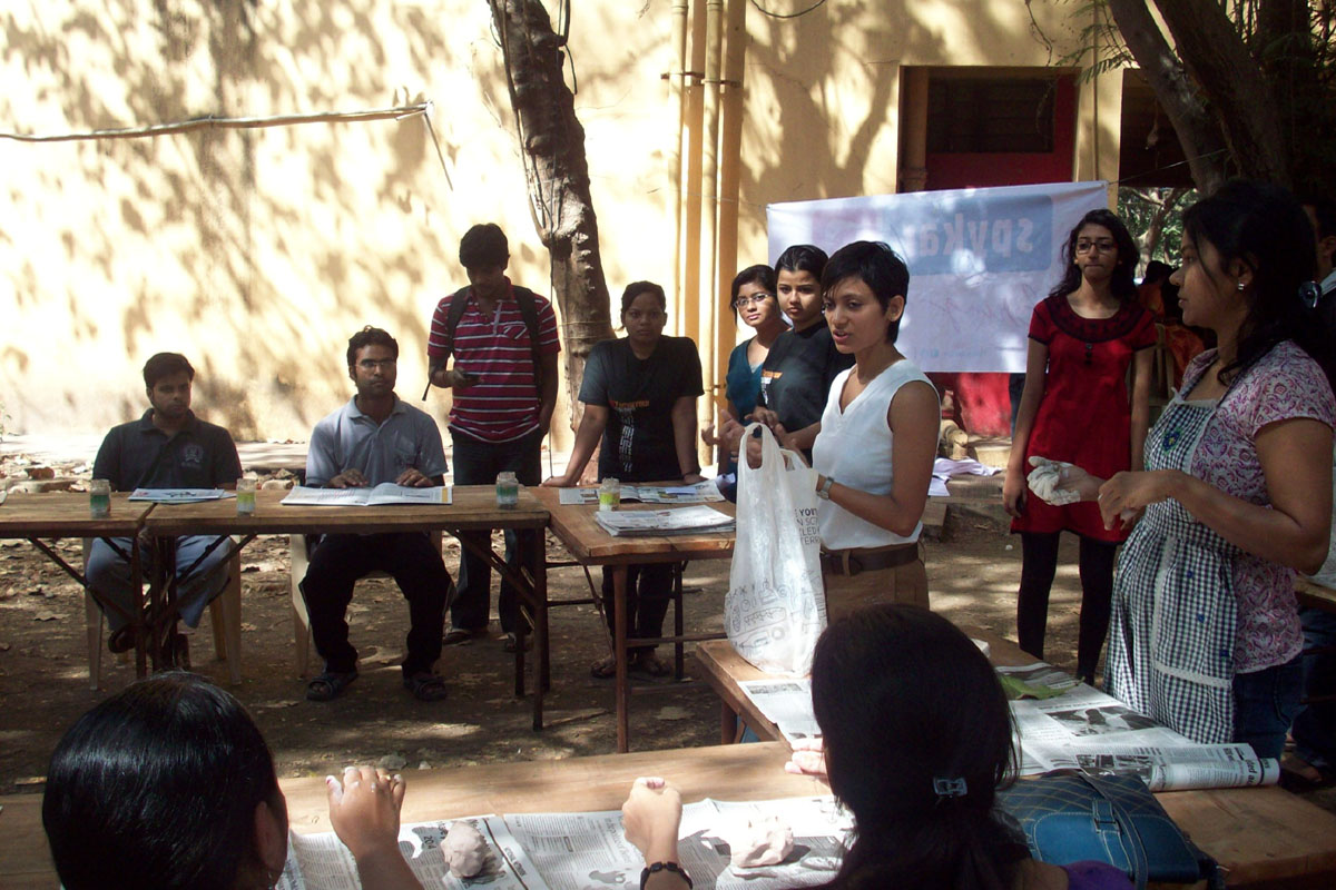 clay modelling workshop iit mumbai