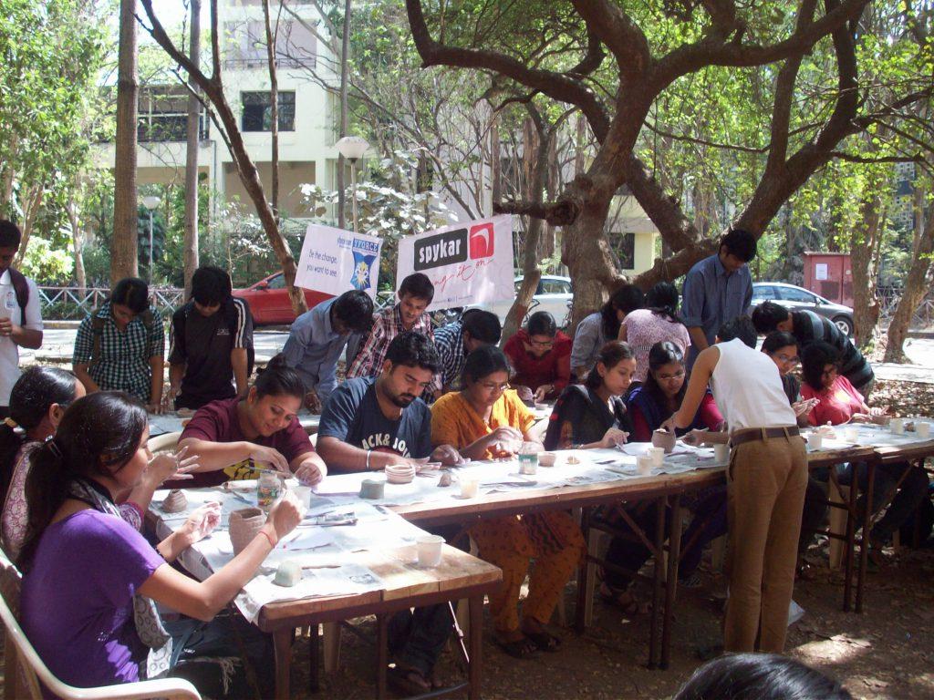 clay modelling workshop iit mumbai 2