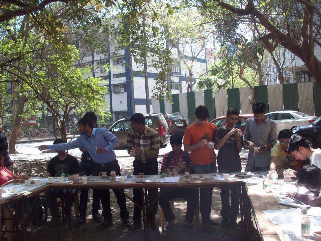 clay modelling workshop iit mumbai 3