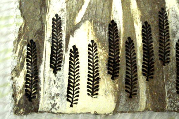 Mini murals in natural ceramic textures