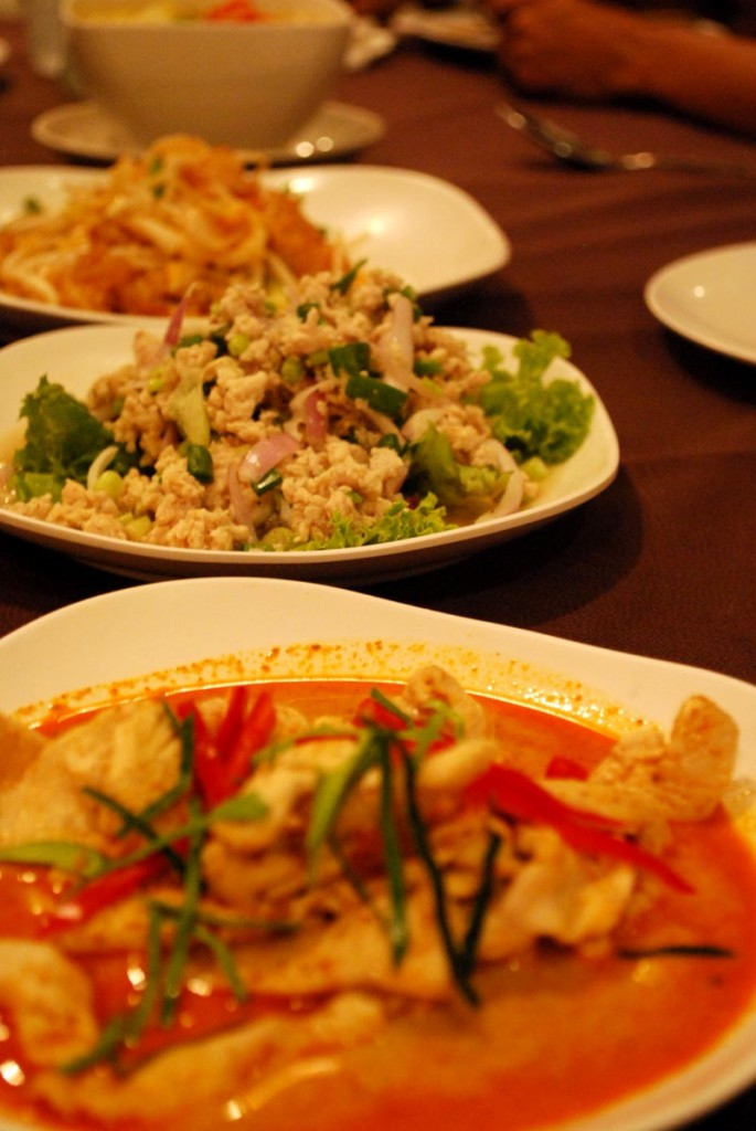 Thai food : Dinner at Patong, Phuket