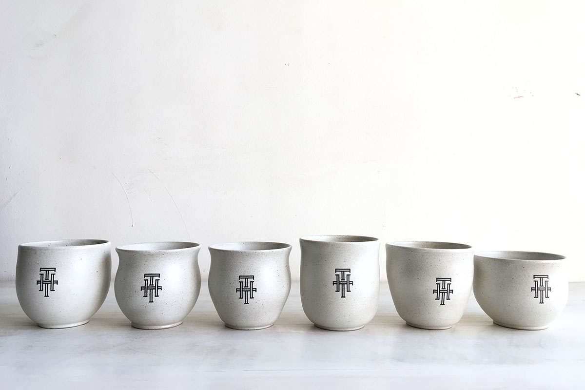 Customised tea bowls for Foodhall, Mumbai